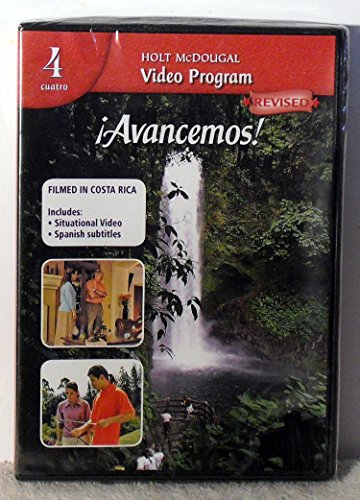9780547278834: ¡Avancemos!: Video Program DVD Level 4 (Spanish Edition)