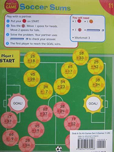 9780547279428: Houghton Mifflin Harcourt Math West Virginia: Grab And Go Kit Games 11-20 Level 2
