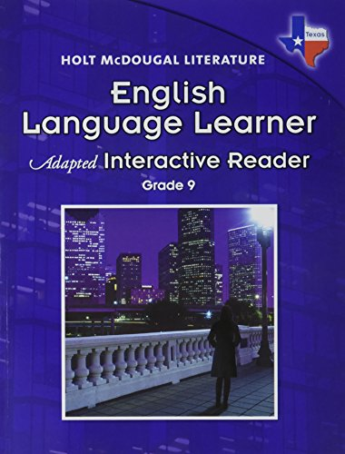 9780547282206: Holt McDougal Literature Texas: English Language Learner Adapted Interactive Reader Grade 9