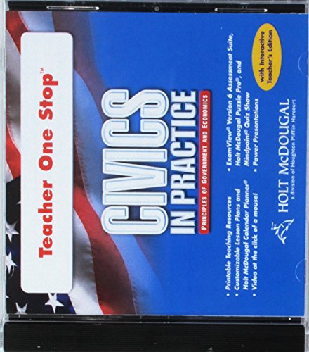 9780547285818: Civics in Practice: Teacher One Stop DVD-ROM