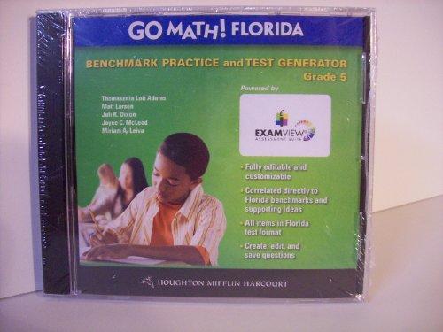 GO MATH! FLORIDA GRADE 5 CD-ROM: THOMASENIA LOTT ADAMS, JULI DIXON, MATT LARSON, JOYCE C. McCLEOD, ...