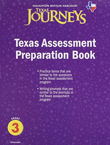 9780547314891: Journeys Texas: Assessment Preparation Student Edition Grade 3