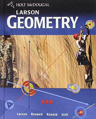 9780547315171: Holt McDougal Larson Geometry: Student Edition 2011
