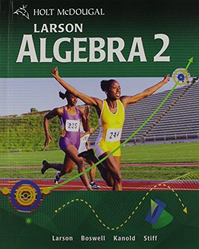 9780547315263: Algebra 2, Grades 9-12