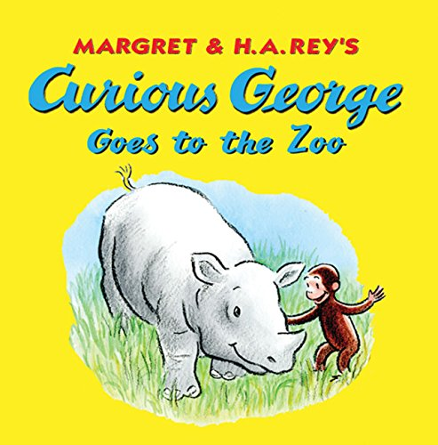 9780547316192: Curious George Goes to the Zoo 8x8