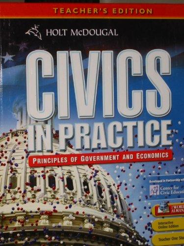 9780547318370: Civics in Practice: Teacher Edition 2011