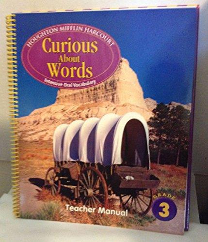 9780547327495: Journeys: Curious About Words Teacher Manual Grade 3