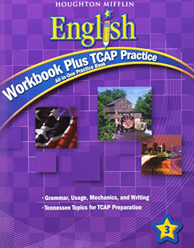 9780547329741: Houghton Mifflin English: Workbook Plus Tcap Practice Grade 3