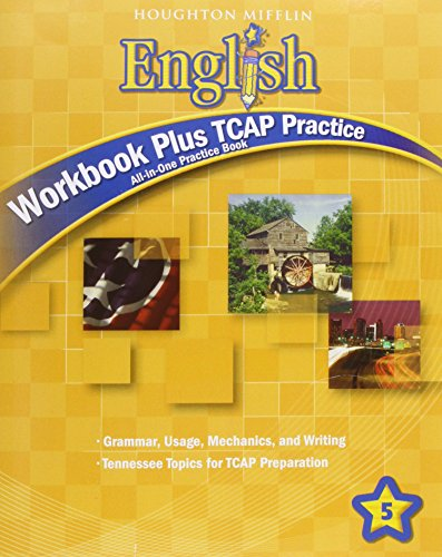 9780547329772: Houghton Mifflin English: Workbook Plus Tcap Practice Grade 5
