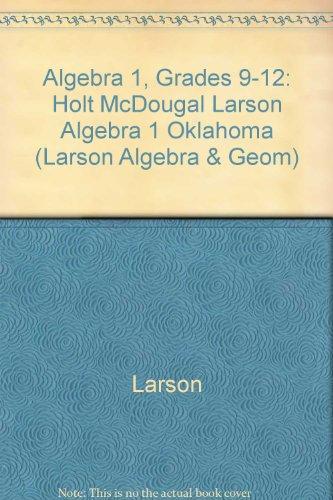 9780547332895: HOLT MCDOUGAL LARSON ALGEBRA 1 (Larson Algebra & Geom)