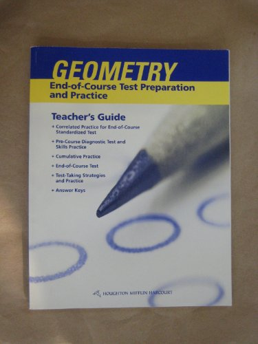 9780547336794: Holt Geometry North Carolina: End-of-Course Test Preparation and Practice Teacher's Guide