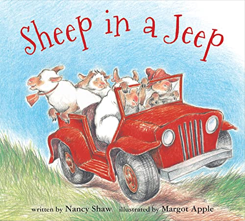 9780547338057: Sheep in a Jeep (board book)
