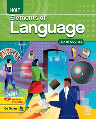 9780547353326: Elements of Language: Homeschool Package Grade 12 Sixth Course