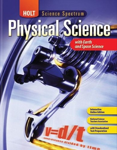 9780547353470: Holt Science Spectrum: Physical Science with Earth and Space Science: Homeschool Package