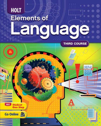9780547353685: Elements of Language: Homeschool Package Grade 9 Third Course