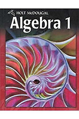 9780547353692: Holt McDougal Algebra 1: (Ready to Go On? Intervention and Enrichment)