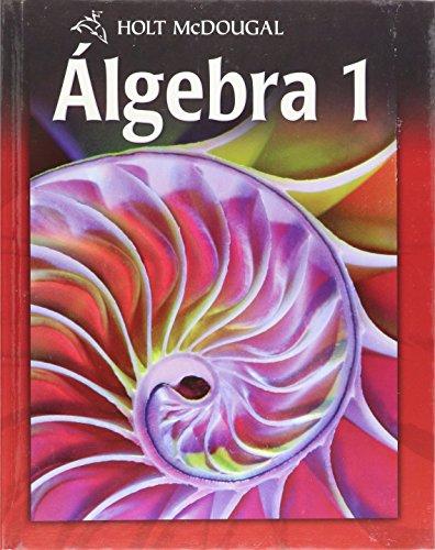 9780547353715: Algebra 1, Grades 9-12: Holt Mcdougal Algebra 1