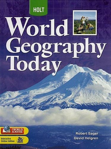 9780547353999: World Geography: Homeschool Package