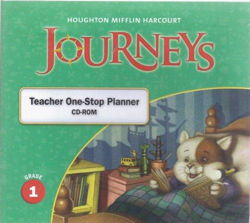 9780547361192: Journeys: Teacher One Stop Planner CD-ROM Grade 1