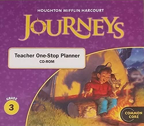 9780547361215: Journeys: Teacher One Stop Planner CD-ROM Grade 3