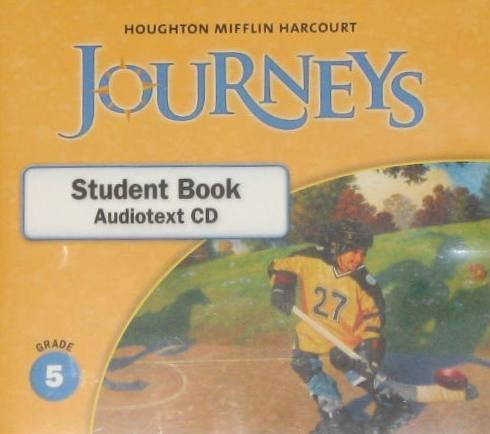 9780547362021: Journeys: Student Book Audiotext CD Grade 5