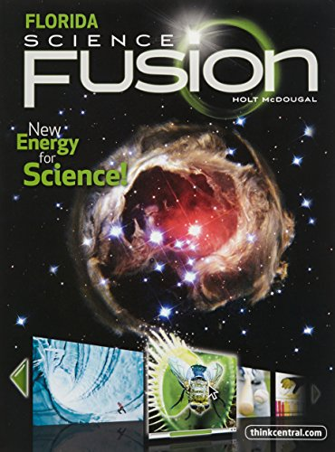 9780547365756: Science Fusion Interactive Worktext Grade 8: Holt Mcdougal Science Fusion Florida