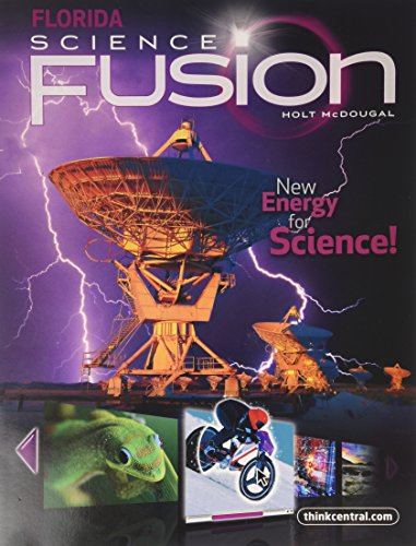 9780547365770: Holt McDougal Science Fusion Florida: Student Edition Interactive Worktext Grade 6 2012