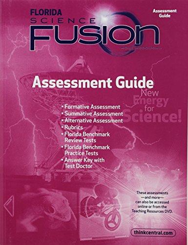 9780547365930: Holt McDougal Science Fusion Florida: Assessment Guide Grade 6
