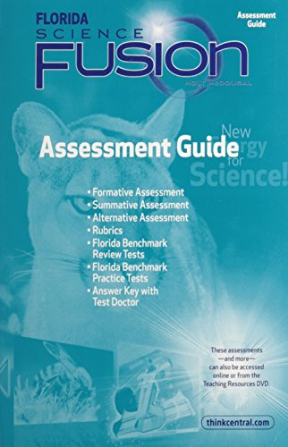 9780547366012: Holt McDougal Science Fusion Florida: Assessment Guide Grade 7