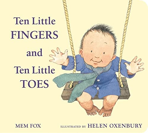 9780547366203: Ten Little Fingers and Ten Little Toes padded board book