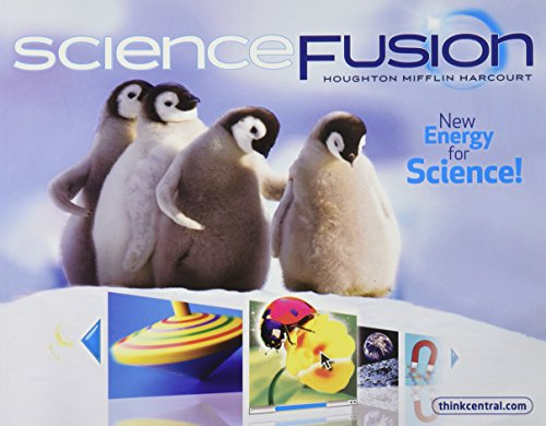 9780547367941: ScienceFusion: Student Edition Interactive Worktext Grade K 2012