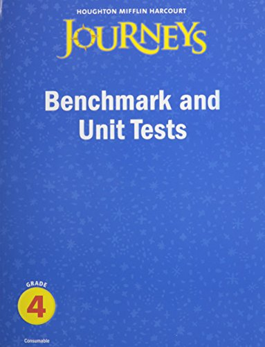 9780547368887: Journeys: Benchmark and Unit Tests Consumable Grade 4