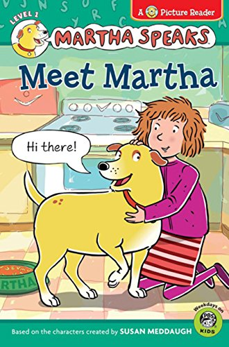 9780547369044: Martha Speaks: Meet Martha (Picture Reader)