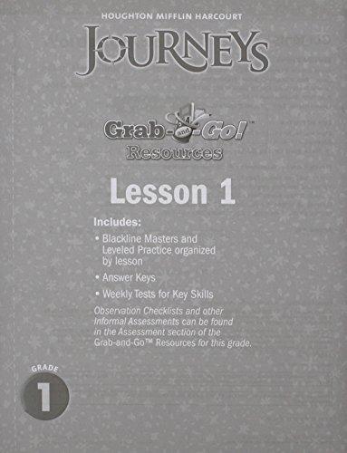 9780547370767: Journeys: Grab and Go Complete Set Grade 1
