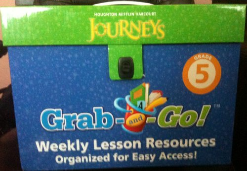 9780547370811: Journeys: Grab and Go Complete Set Grade 5