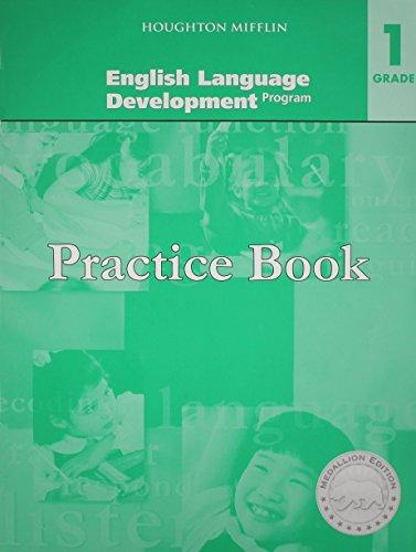 9780547372372: Medallions, Grade 1 Practice Book: Houghton Mifflin Harcourt Medallions Eld California (Hmr Journeys/Medallions/portals 2010-12)