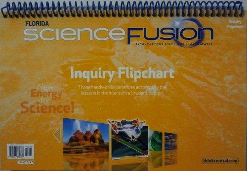 9780547372686: Houghton Mifflin Harcourt Science Fusion Florida: Inquiry Flipchart Grade 5