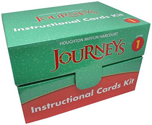 9780547374581: Journeys: Instructional Card Kit Grade 1