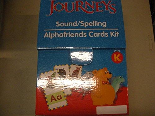 9780547377292: Journeys: Sound Spelling/Alpha Friends Card Set Grade K