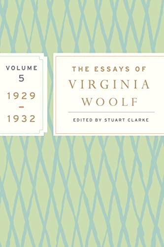 9780547385341: The Essays of Virginia Woolf, Vol. 5 1929-1932