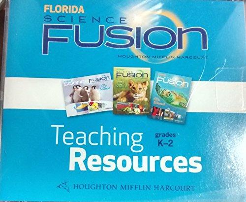 9780547385969: Houghton Mifflin Harcourt Science Fusion Florida: English/Spanish Teaching Resources DVD-ROM Grades K-2