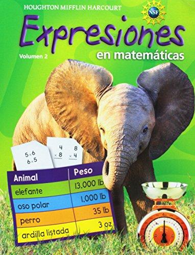 9780547388465: Expresiones en matemáticas: Cuaderno de actividades Consumable, volumen 2 Grade 3 2011 (Spanish Edition)