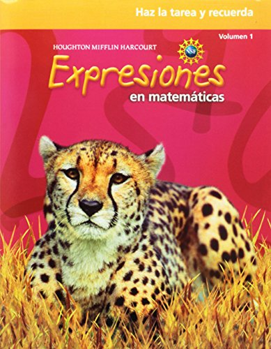 9780547389134: Math Expressions Spanish: Homework & Remembering Workbook, Volume 1 Grade 5 (Spanish Edition)