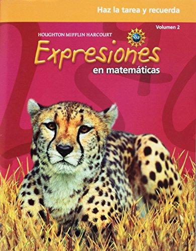 9780547389172: Math Expressions Spanish: Homework & Remembering Workbook, Volume 2 Grade 5 (Spanish Edition)