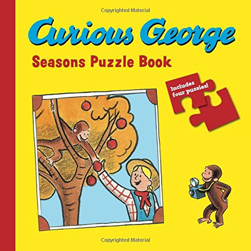 9780547391427: Curious George Seasons Puzzle Book