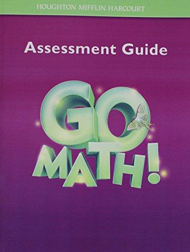 9780547391953: Go Math Assessment Guide: Grade 3