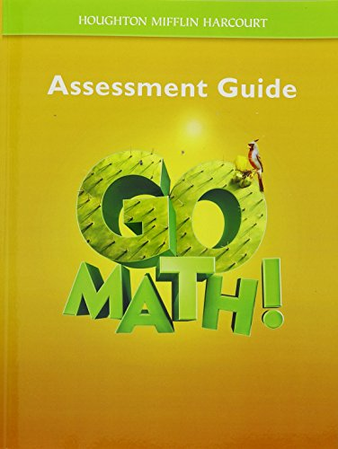9780547392103: Go Math!: Assessment Guide Grade 5