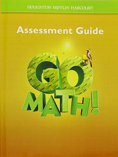 9780547392103: Go Math!: Assessment Guide Grade 5