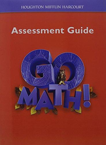 9780547392134: Go Math!: Assessment Guide Grade 6