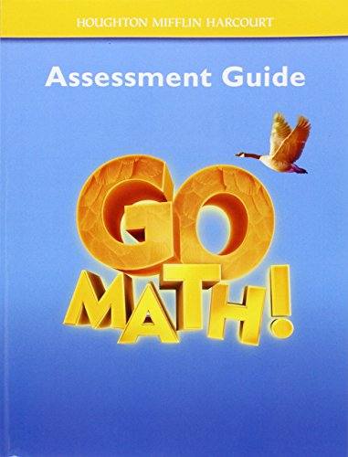 9780547392172: Go Math!: Assessment Guide Grade 4